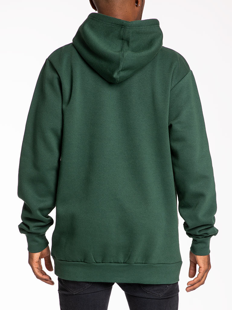The 24 Blank Premium Pullover Hoodie in Forest Green