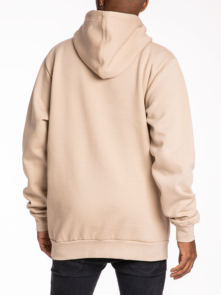 The 24 Blank Premium Pullover Hoodie in Sand