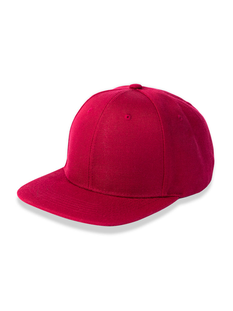 The 24 Snapback in Burgundy