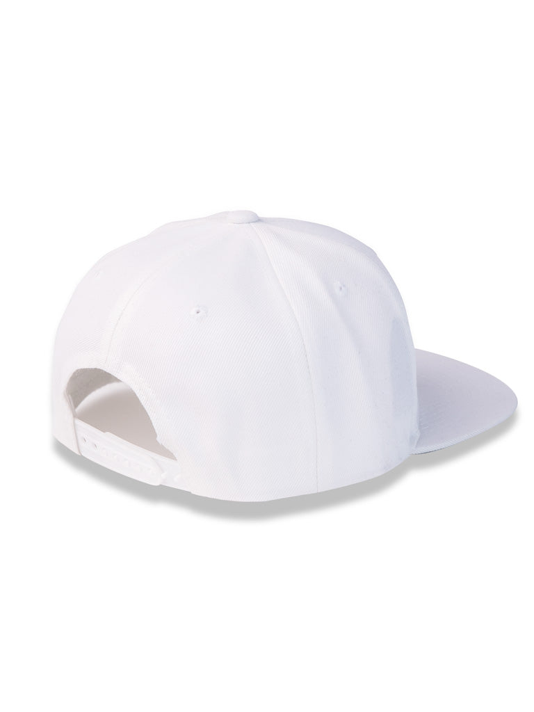 The 24 Snapback in White