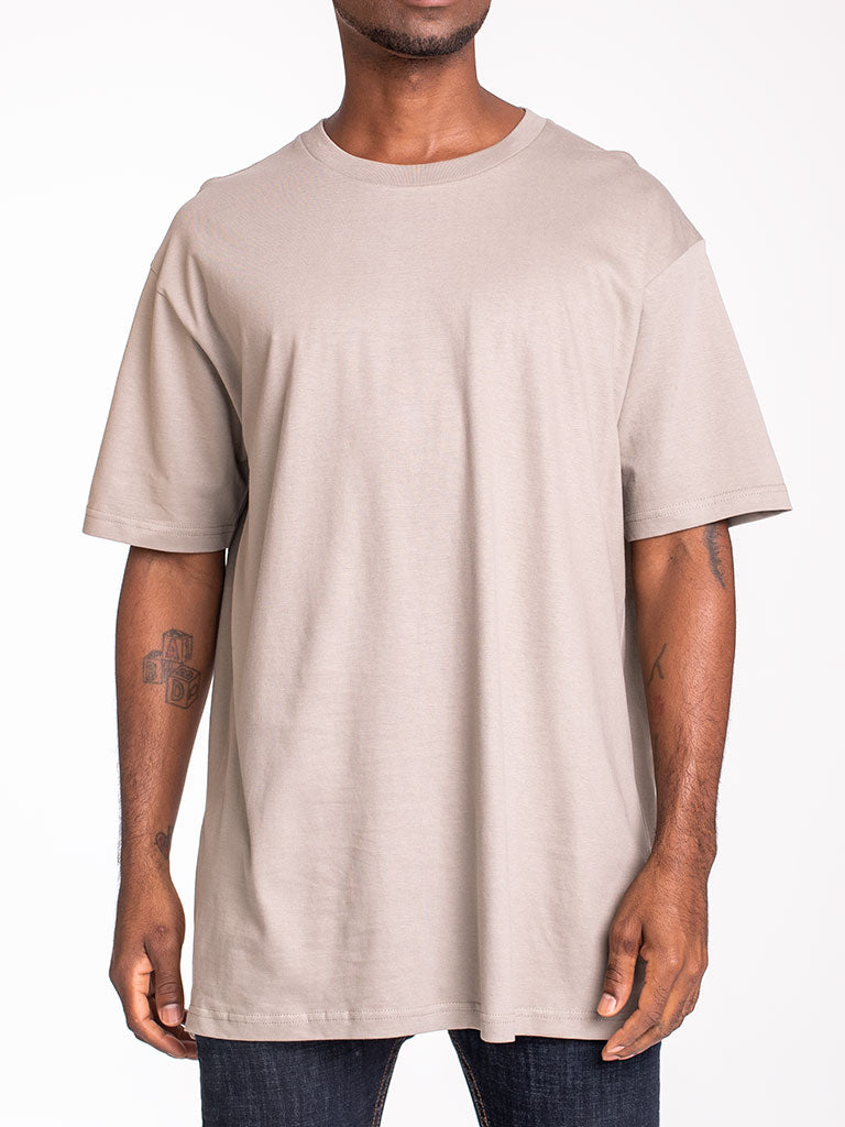 The 24 Blank Premium Crew Tee in Khaki