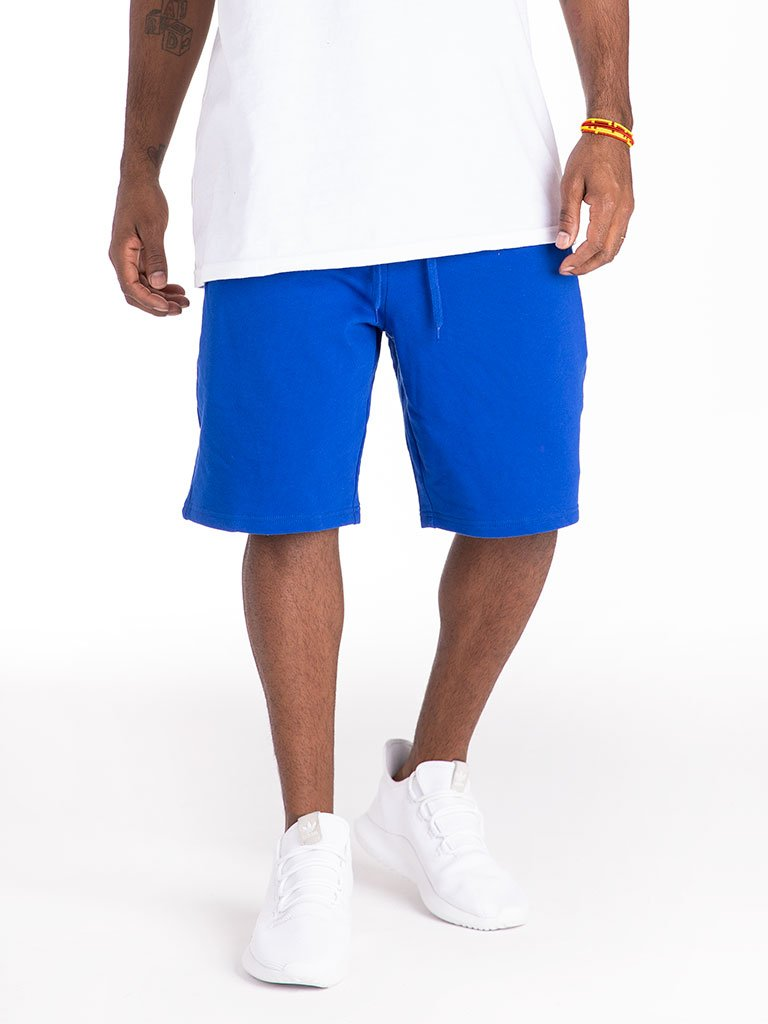 The 24 French Terry Lux Sweat Shorts in Strong Blue