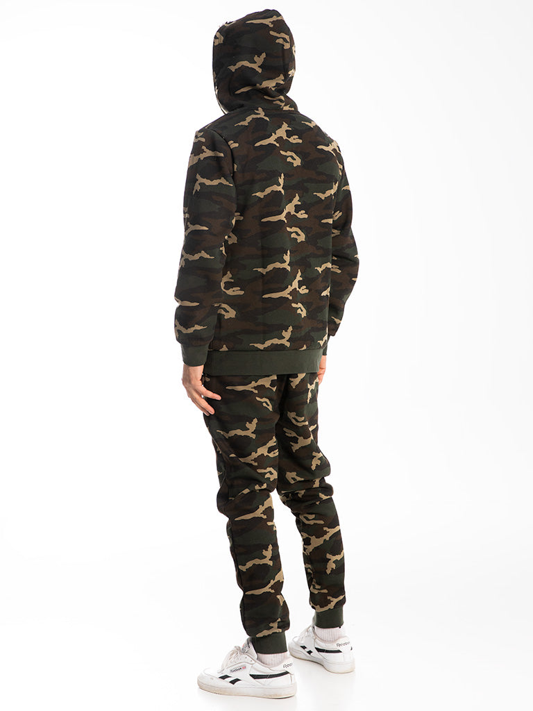 The 24 Premium Sweatpants in Green Camo