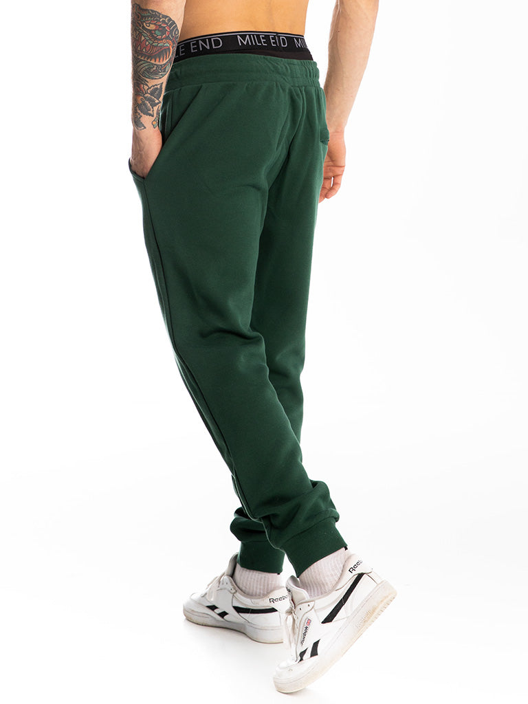The 24 Premium Sweatpants in Forest Green