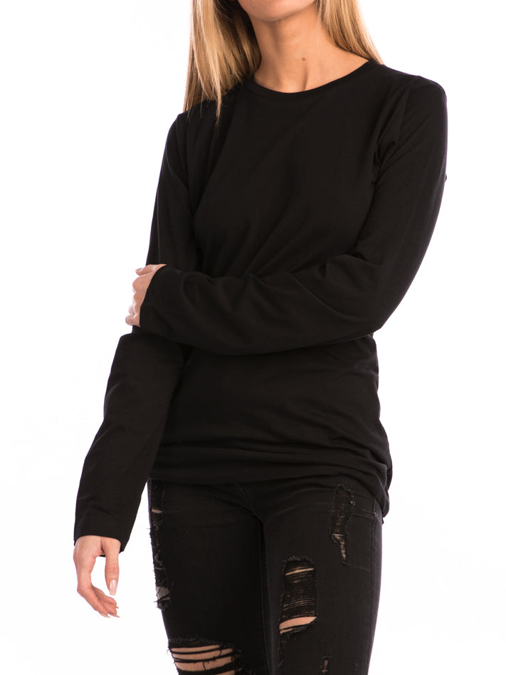 The 24 Ladies Premium L/S Tee in Black