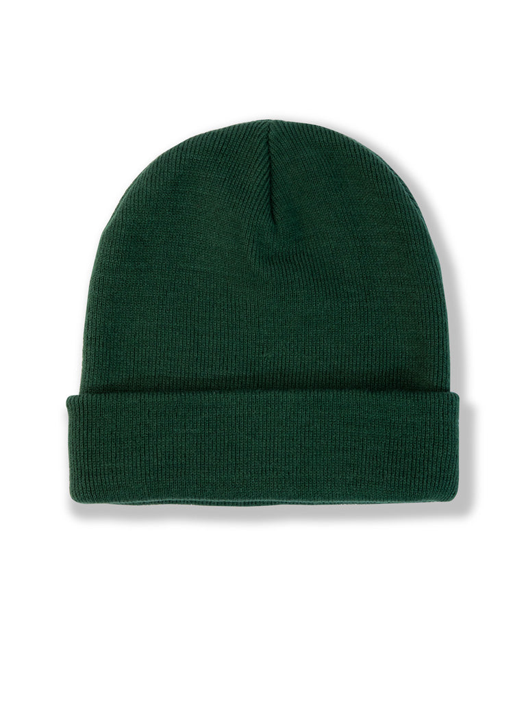 The 24 Beanie in Forest Green