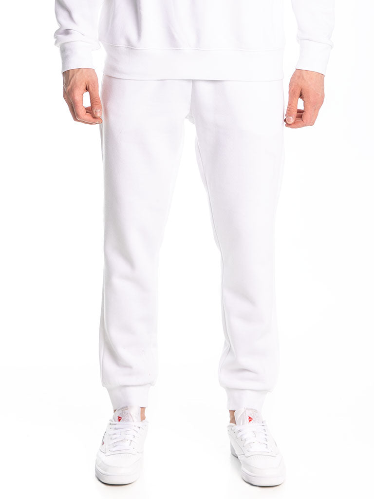 The 24 Premium Sweatpants in White