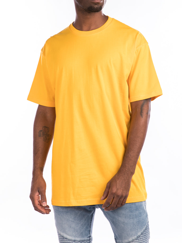 The 24 Premium Crew Tee in Gold