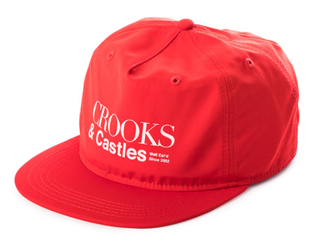 0b6178f5dc705 The Crooks and Castles A1 Strapback Cap in Red.  10.00 CAD.  32.00 CAD. The  Crooks and Castles Champagne   Cocaine Snapback in Speckle Grey