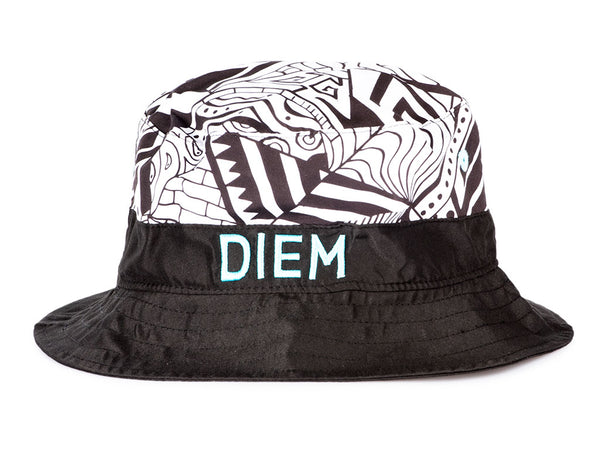 8625ac9ecdcf7 The DIEM Bucket Hat in Black-Multi – INSTOCKSHOWROOM