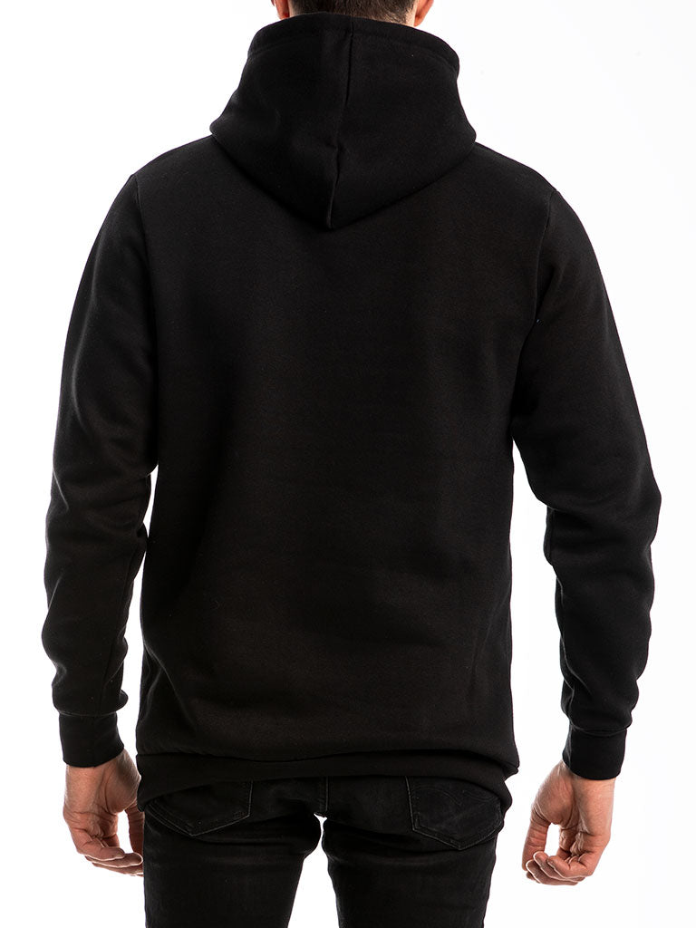 The Explicit Core Logo Pullover in Black