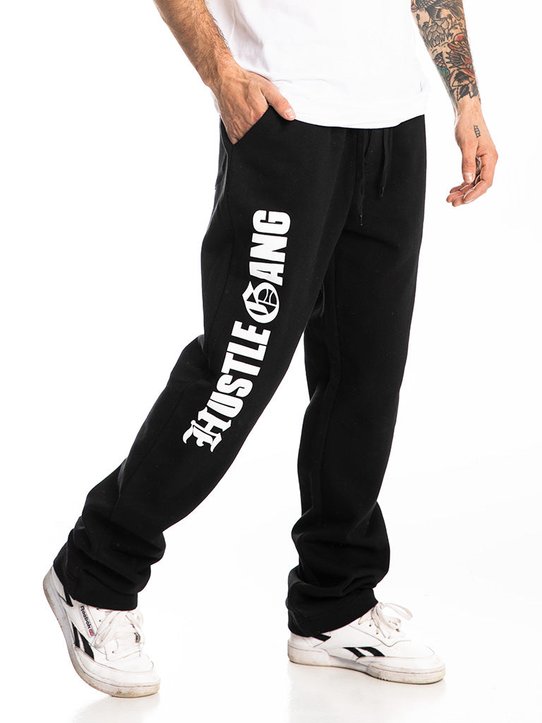 The Hustle Gang Chronic Sweatpants in Black-White
