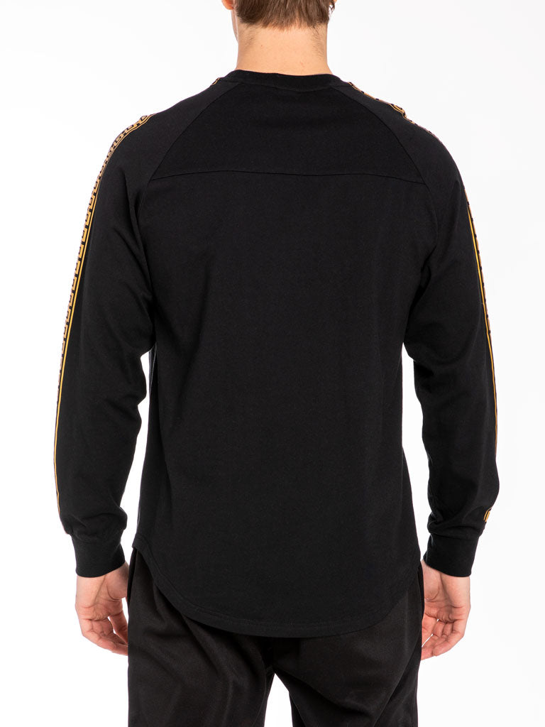 The Hustle Gang Illustrious L/S Tee in Black
