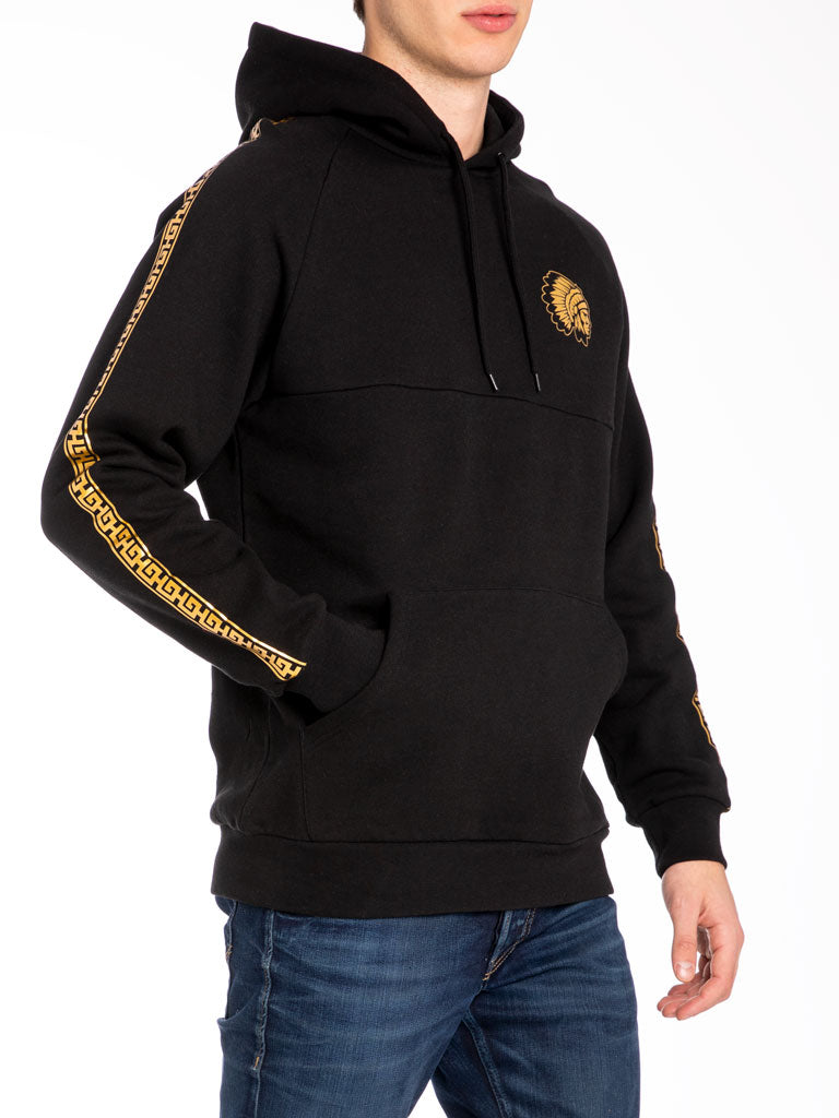 The Hustle Gang Illustrious Pullover in Black