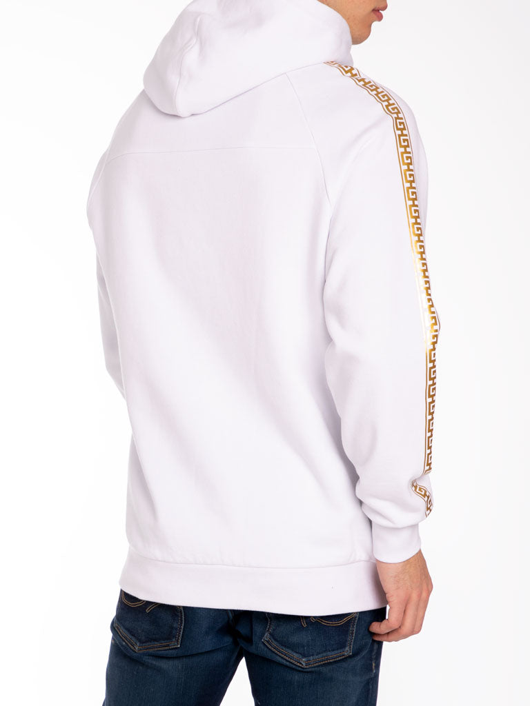 The Hustle Gang Illustrious Pullover in White