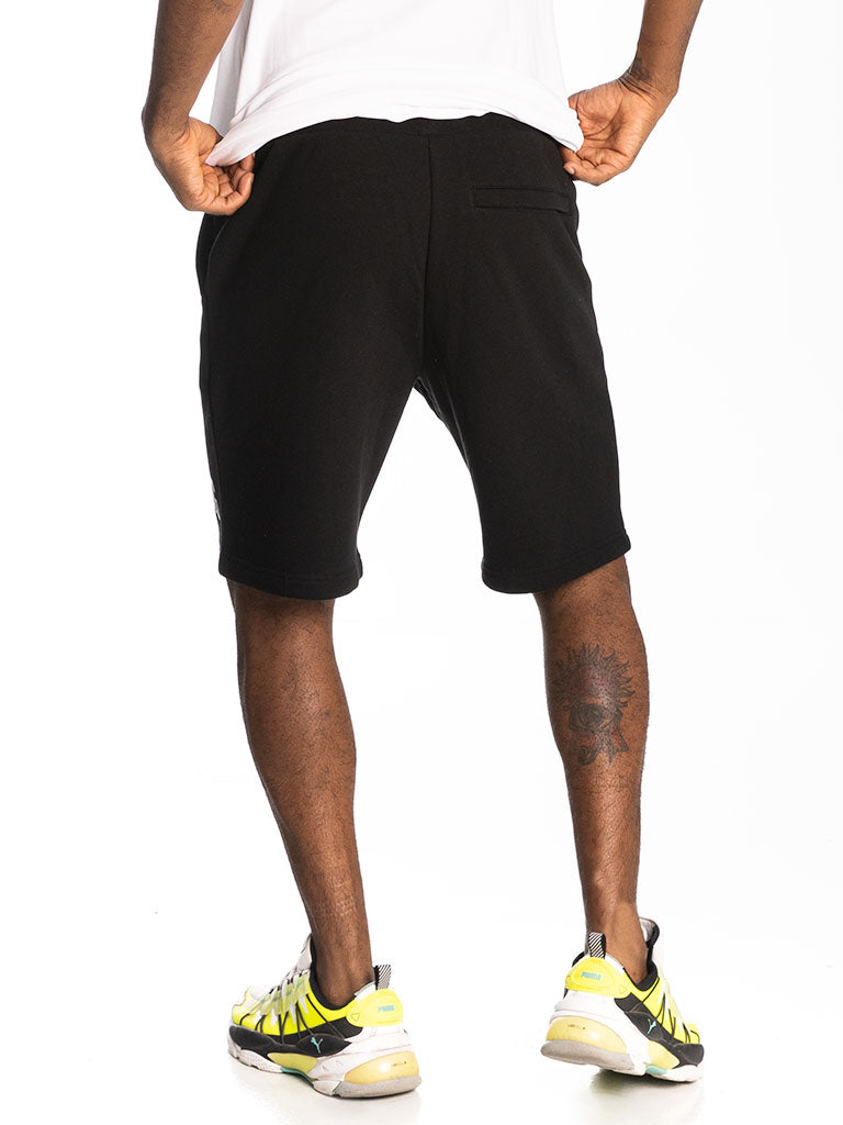 The Hustle Gang Unlimited Shorts in Black