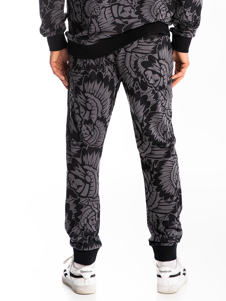 The Hustle Gang Prominent Sweatpants in Black