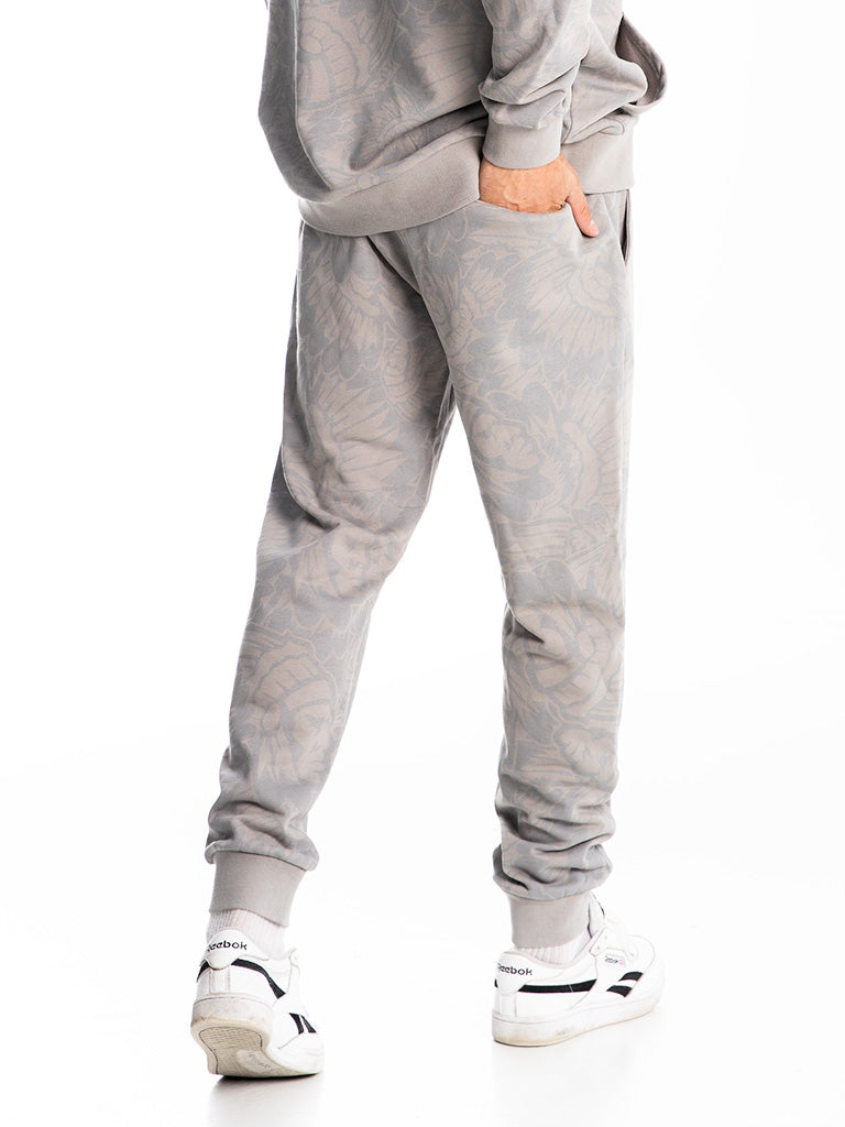The Hustle Gang Prominent Sweatpants in Grey