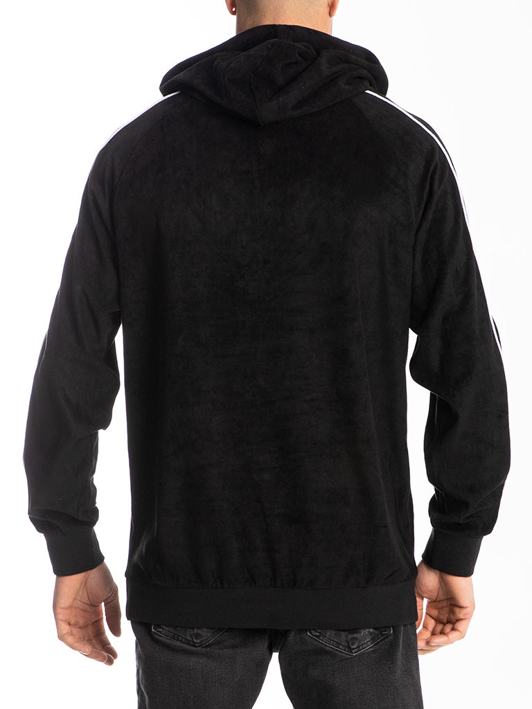The Hustle Gang Smooth Operator Pullover Hoodie in Black
