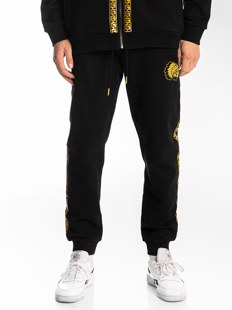 The Hustle Gang Life of Luxury Sweatpants in Black