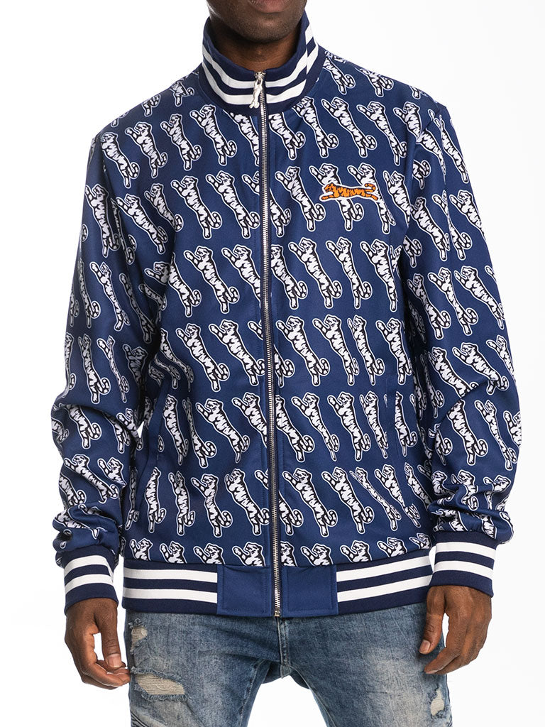 Le Tigre Avery Track Jacket in Blue