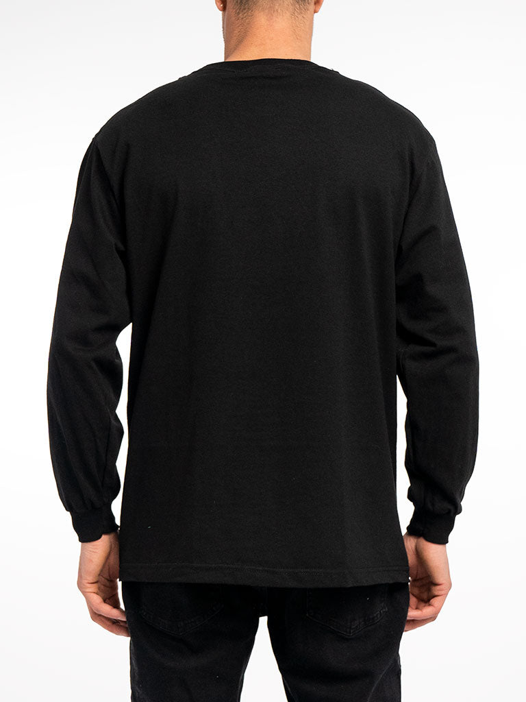 The Metal Mulisha Remains L/S Crew Tee in Black
