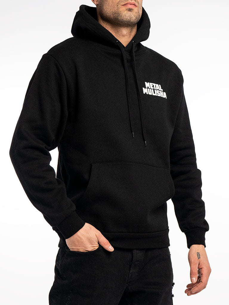 The Metal Mulisha Full Metal Pullover Hoodie in Black