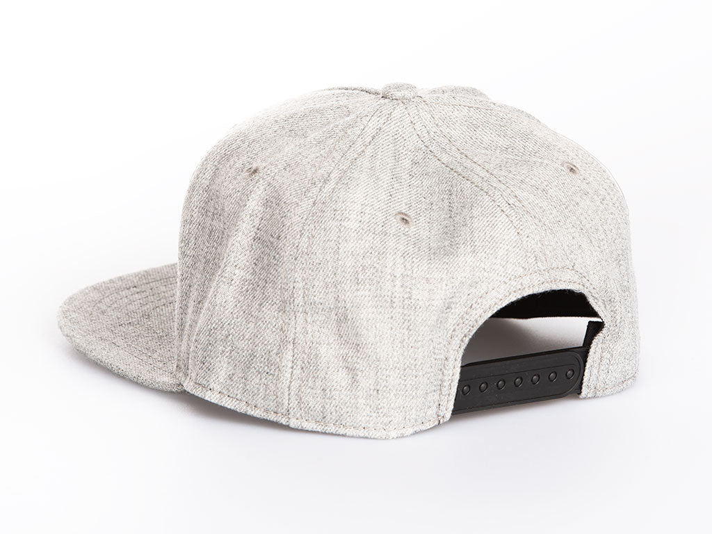 The Nomadic Lift Snapback in Heather Grey