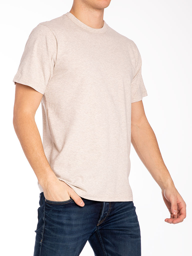 The 24 Blank Knit T-shirt in Oatmeal