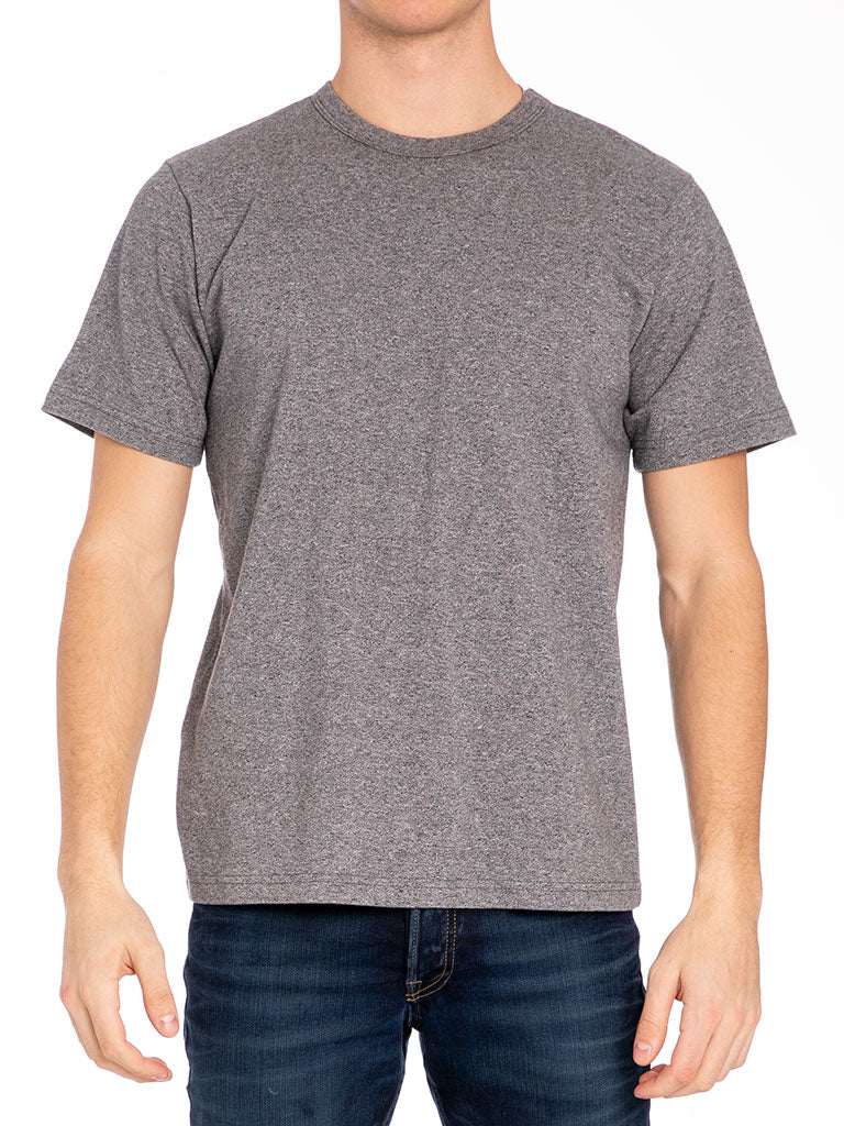 The 24 Blank Knit T-shirt in Charcoal