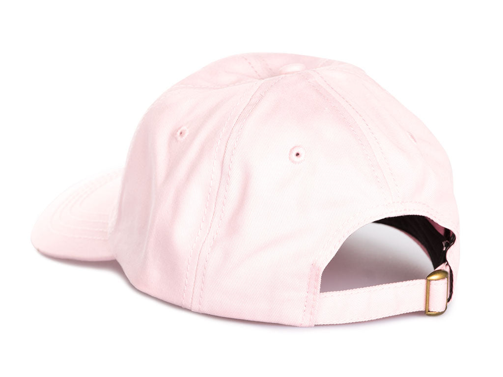 THE TRAP LORD CREST DAD HAT IN PINK