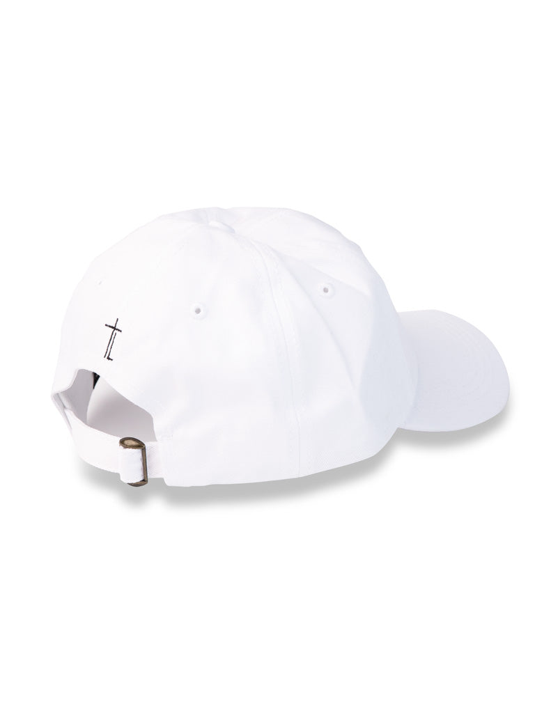 The Trap Lord Dad Hat in White