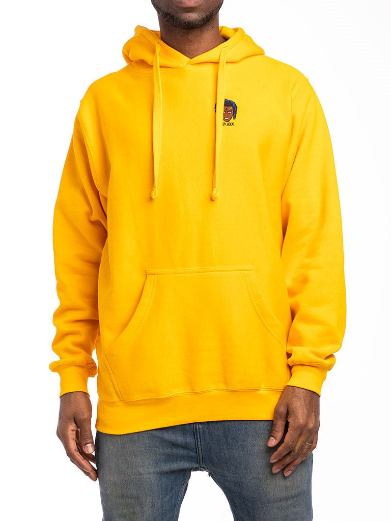The Limited XXX Pullover Hoodie in Gold