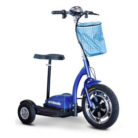 EW-18 Stand And Ride Scooter By E-Wheels - Reliving Mobility