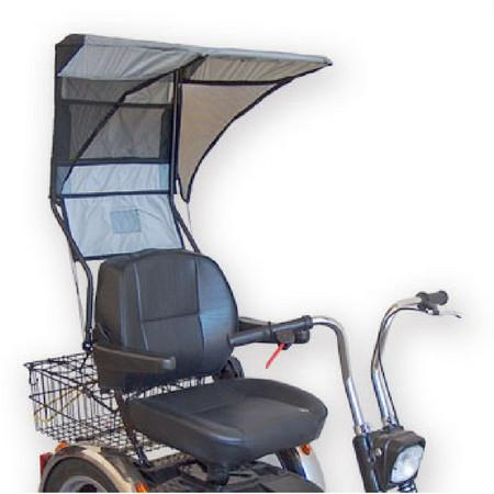 EV Rider (DST-C2420) Soft Type Single Seat Canopy - Reliving Mobility