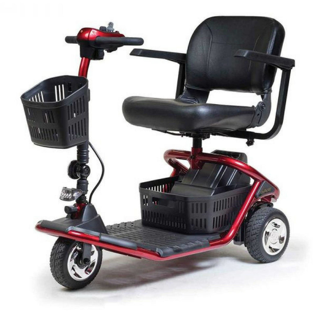 Golden LiteRider 3 Wheel Scooter GL111D, 300 lb Capacity, 5 mph - Reliving Mobility