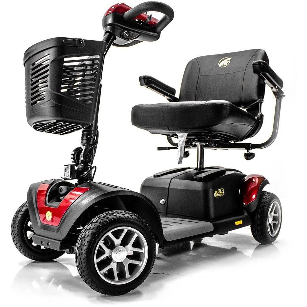 Golden Buzzaround EX Portable 4 Wheel Scooter GB148D, 350 lb Capacity - Reliving Mobility