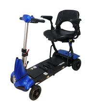 Enhance Mobility Mobie Plus S2043 Portable Folding 4 Wheel Scooter - Reliving Mobility