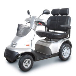 EV Rider Afiscooter S4 Two 2 Person - 4 Wheel Scooter 450 lb Capacity - Reliving Mobility