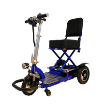 Enhance Mobility Triaxe Tour T3050 Portable Folding 3 Wheel Scooter - Reliving Mobility