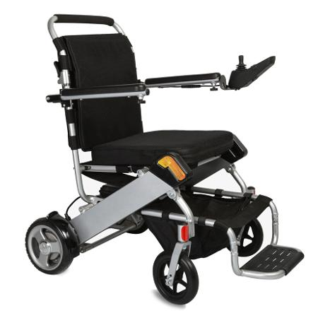 Karman PW-F500 Tranzit Go Foldable Power Wheelchair - Reliving Mobility
