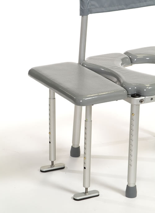 Multichair Shower Legs for Transfer Cushion - Reliving Mobility