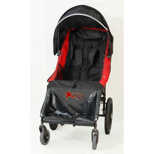 Adaptive Stroller - Axiom LASSEN 4 Indoor/Outdoor Mobility Push Chair