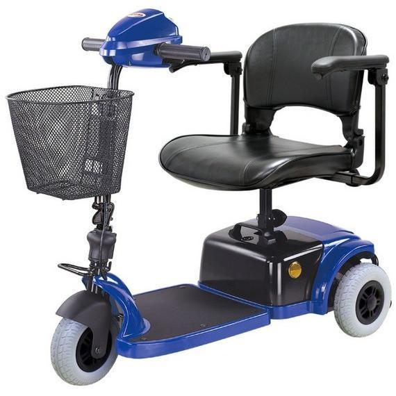 CTM HS-125 3-Wheels Scooter - Reliving Mobility
