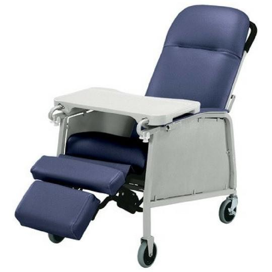 Lumex Three Position Recliner (FR574G432) - Reliving Mobility