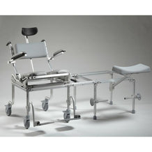Nuprodx MC6200Tilt Rolling Toilet Commode Chair & Tub Slider - Reliving Mobility
