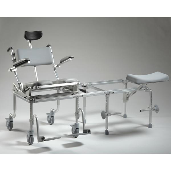 Nuprodx Rolling Toilet Commode Chair & Tub Slider MC6200Tilt - Reliving Mobility