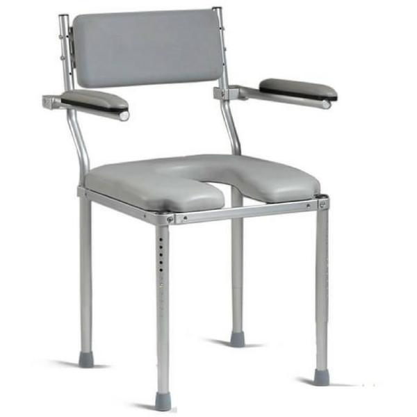 Nuprodx Shower Toilet Commode Chair MC3200 (Large Seat) - Reliving Mobility