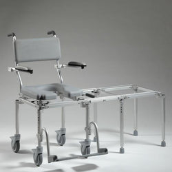 Nuprodx MC6000 Rolling Toilet Commode & Tub Slider - Reliving Mobility