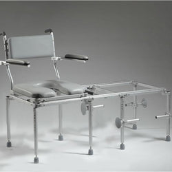 Nuprodx MC5200 Toilet Commode Chair & Tub Slider (Large Seat) - Reliving Mobility